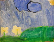Rainy clouds by Caitlyn